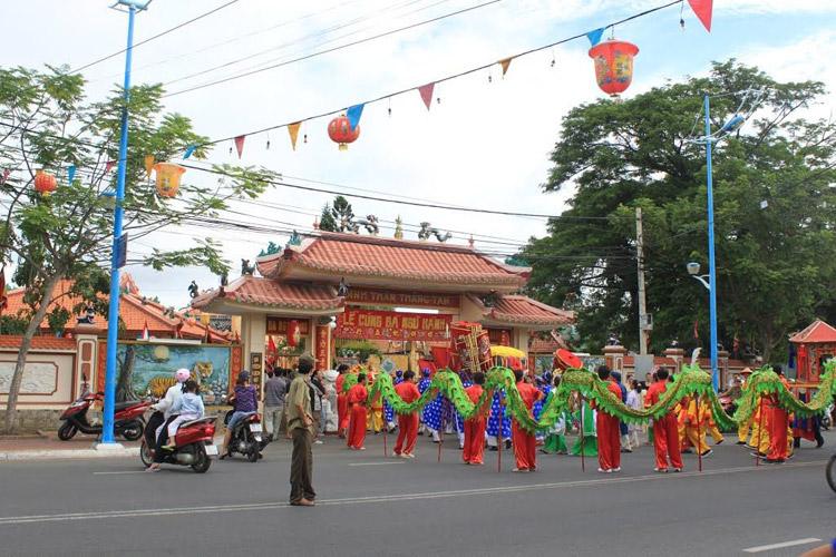 Lễ hội Đình Thần Thắng Tam. Ảnh : ST